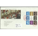 Royal Mail First Day Cover London Life Set Of Stamps