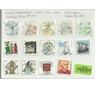 West Germany 1997 Full Sets of Stamps