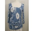 Phase Eight Soft Top Smokey Blue Size: 14