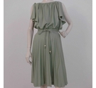 Unbranded Midi Dress Cool Mint Size: S