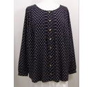 Marks and Spencer Blouse Navy Blue Size: 22