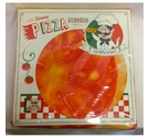 3D Effect Takeaway Pizza Quilt Cover Set Double