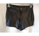 Unbranded Black Hot Pants Black Size: M