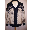 Knowledge cotton apparel cardigan multi Size: M