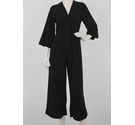 Monki Jumpsuit Black Size: XS