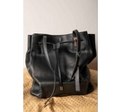 Paul Costelloe Tote Handbag Black Size: Not specified