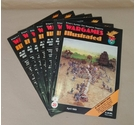 "7 x Vintage ""Wargames Illustrated"" Magazine - 1989/90 - Issues 20 21 23 24 26 32 33"