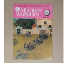 "Free Postage - Vintage ""Miniature Wargames"" Magazine - Issue 46 - Mar 1987"
