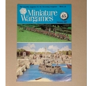 "Free Postage - Vintage ""Miniature Wargames"" Magazine - Issue 45 - Feb 1987"