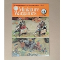 "Free Postage - Vintage ""Miniature Wargames"" Magazine - Issue 44 - Jan 1987"