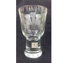 Caithness Glass Goblet 1969 Investiture of HRH Prince of Wales