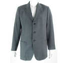 "Magee 42"" Wool & Linen Suit Jacket Grey Size: L"