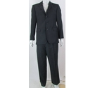 Austin Reed 40R 36/27 Wool/Cashmere Suit Navy Blue Size: M
