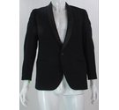 "Vintage Hardy Amies Pure New Wool Dinner Jacket Black 36"" Size: S"