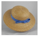 Jumpers Traditional School Boater Straw Hat Size: S