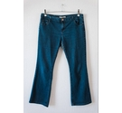 Dorothy Perkins Navy Bootcut Jeans Navy Size: 34""