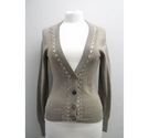Banana Republic Lady's Buttoned Cardigan Beige Size: XS