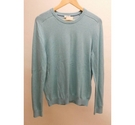 Gap Cotton Cashmere Jumper Blue Size: M