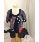 Monsoon top Multi coloured Size: 4-5 years