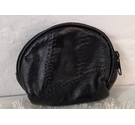 Unbranded Leather coin purse Black Size: S