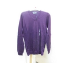 M&S v-neck jumper Purple Size: XS