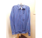Tommy Hilfiger Long sleeved shirt Blue and red Size: XXL