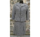 Jaeger vintage wool dress suit grey Size: 12