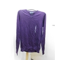 M&S Marks & Spencer v-neck jumper Purple Size: S