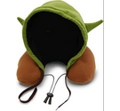 Yoda Star Wars Hooded Neck Travel Pillow