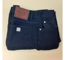 Yves Saint Laurent YSL Jeans 1990s Vintage Black or Dark Navy Blue Size: 36""