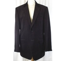 M&S Marks & Spencer Jacket With Lapels and Pockets Plum Size: M