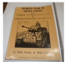 World War II Army Lists : For Cambrai to Sinai & Armour & Infantry 1925-1950 (Wargames)
