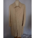 Burberry Raincoat (c. 1980's) Beige Size: L