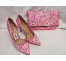 Call it Spring - Wedding Bag & Shoes, size 37 UK 4 Pink Size: Not specified