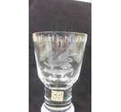 Caithness Glass Goblet 1969 Investiture of HRH The Prince of Wales