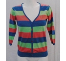 Lime Bay lightweight cardigan multi-coloured Size: S