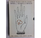 First Slice your Cookbook