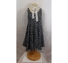 Dolce & Gabbana floral dress black/ white Size: 5 - 6 Years