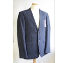 Mark & Spencer Luxury Tailored Fit Suit Dark Blue Size: M