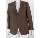 "Boss by Turo 42"" Pure New Wool Jacket Brown Size: L"