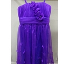Oriental pearl floral special occasion dress purple Size: 12 - 13 Years