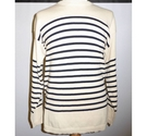 TM798 T-Traxx Universal Striped sweater, medium weight Cream Size: XL
