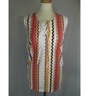 Vintage unbranded top Sleeveless tunic style top Multicoloured Size: M