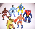 Set of 7 he-man action figures
