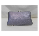 Pavers BNWT glitter clutch bag with chain Mauve/Grey Size: Not specified