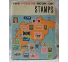 Hardback Album: The Horizon Book of Stamps. 100s of assorted world-wide, used stamps.