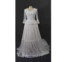 Berketex Bride pleated lace detailing White Size: 8