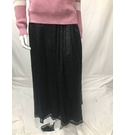 House of Fraser Black maxi lace skirt Black Size: 14