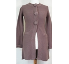 Boden Knee Length Cardigan Brown Size: 6