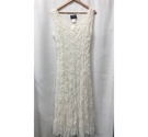 Shubette of London Vintage Lace Style Dress, Cream/Ivory Size: 12
